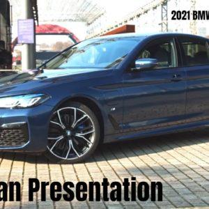 2021 BMW 5 Series Italian Presentation   Presentazione Italiana