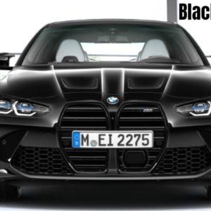 2021 BMW M4 in Black Sapphire Metallic
