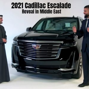 2021 Cadillac Escalade Reveal in Middle East