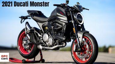 2021 Ducati Monster is a Beast