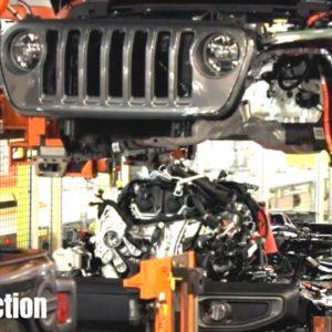 2021 Jeep Wrangler 4xe Plug in Hybrid Production