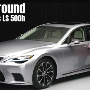 2021 Lexus LS 500h Walkaround