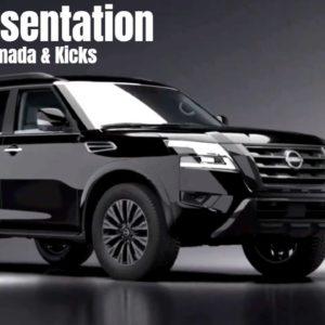 2021 Nissan Armada and Kicks Walkaround