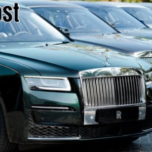 2021 Rolls-Royce Ghost in Japan