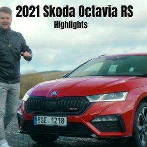 2021 Skoda Octavia RS Highlights