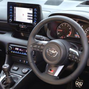 2021 Toyota GR Yaris Interior Right Hand Drive
