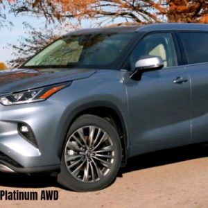 2021 Toyota Highlander Platinum AWD in Moon Dust Color