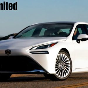 2021 Toyota Mirai Limited in White