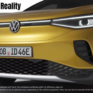 2021 VW ID.3 and ID.4 Augmented Reality Head Up Display