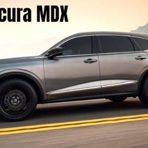 2022 Acura MDX Reveal