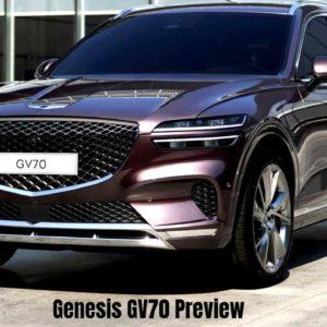 2022 Genesis GV70 Preview   Full Reveal On December 8 2020