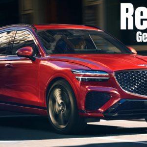 2022 Genesis GV70 SUV Reveal