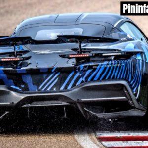 Automobili Pininfarina Battista High Speed Test Begins