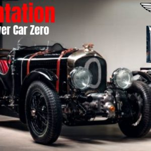 Bentley Blower Car Zero for 2021