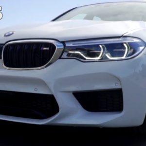 BMW M5 in White walkaround
