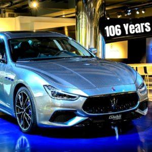 Celebrating 106 years of Maserati