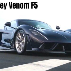 Hennessey Venom F5 Production Model Reveal