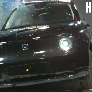 Honda e Electric Car Safety Test