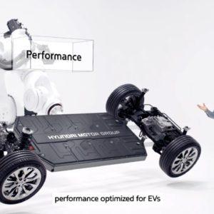 Hyundai Electric Dedicated EV Platform E GMP