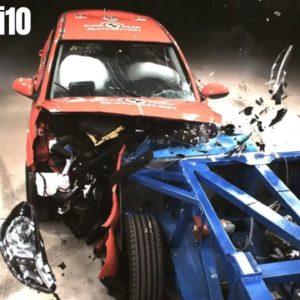 Hyundai i10 Safety Test