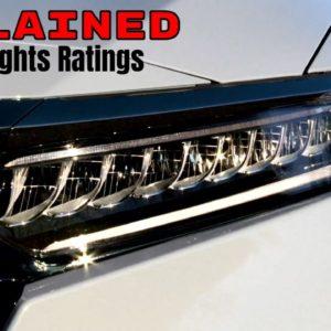 IIHS Headlights Ratings Explained