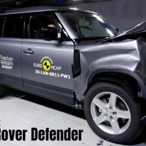 Land Rover Defender Safety Test