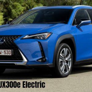 Lexus UX300e Electric 2021 Model