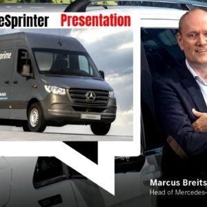 Mercedes Vans Next Generation eSprinter Electric
