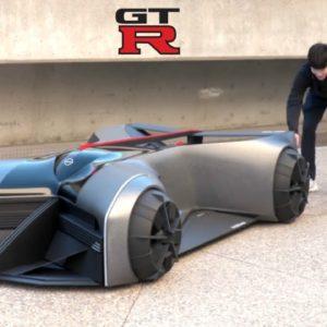 Nissa GT-R X 2050 Future Design Study