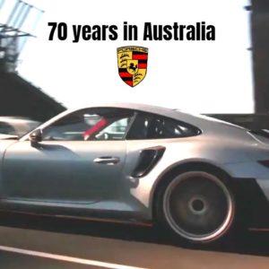 Porsche Celebrating 70 years in Australia