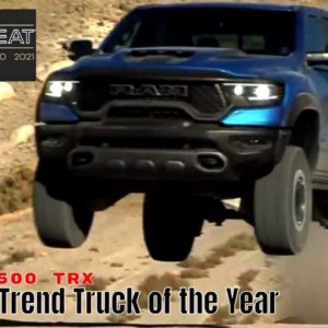 Ram Truck Brand Wins 2021 MotorTrend Truck of the Year Competition