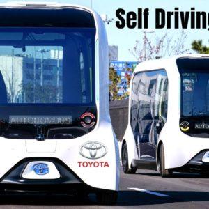 Self Driving Toyota e-Palette