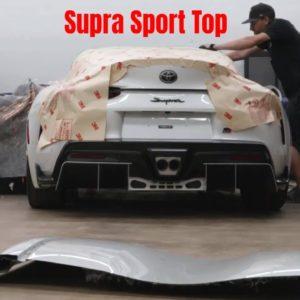 SEMA Build Toyota GR Supra Sport Top