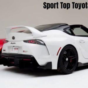 Studio Footage of Sport Top Toyota GR Supra 2020 SEMA
