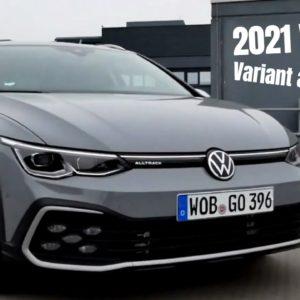 Volkswagen Golf Variant and Alltrack 2021 VW Model