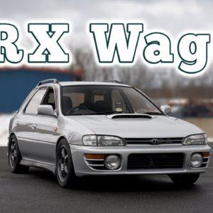 1995 Subaru WRX GF Wagon