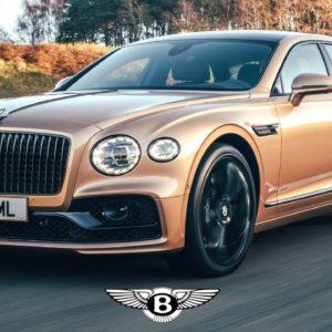2021 Bentley Flying Spur V8 in Camel