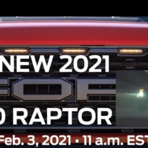 2021 Ford F150 Raptor Will Be Revealed on February 3rd