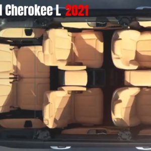 2021 Jeep Grand Cherokee L 7-Passenger Seating Interior