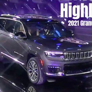 2021 Jeep Grand Cherokee L Highlights