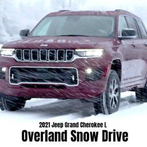 2021 Jeep Grand Cherokee L Overland Snow Drive