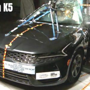 2021 Kia K5 Crash Test and Safety Rating