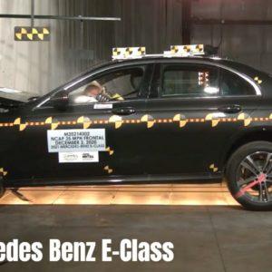 2021 Mercedes Benz E Class 4 Door Sedan Safety Test Rating