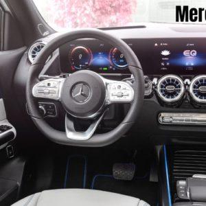 2021 Mercedes EQA Electric SUV Interior Cabin