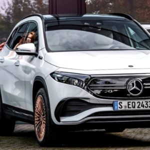 2021 Mercedes EQA Electric SUV Overview