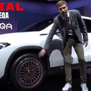2021 Mercedes EQA Electric SUV Revealed