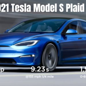 2021 Tesla Model S Updated With New Interior and Plaid+ Model