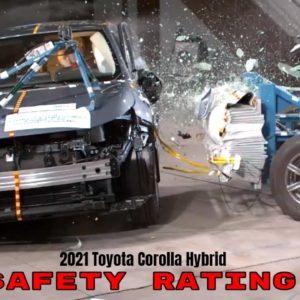 2021 Toyota Corolla Hybrid Safety Rating