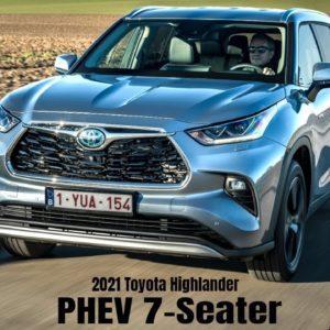 2021 Toyota Highlander DLP Hybrid PHEV 7 Seater