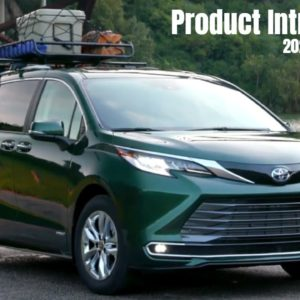 2021 Toyota Sienna Product Introduction